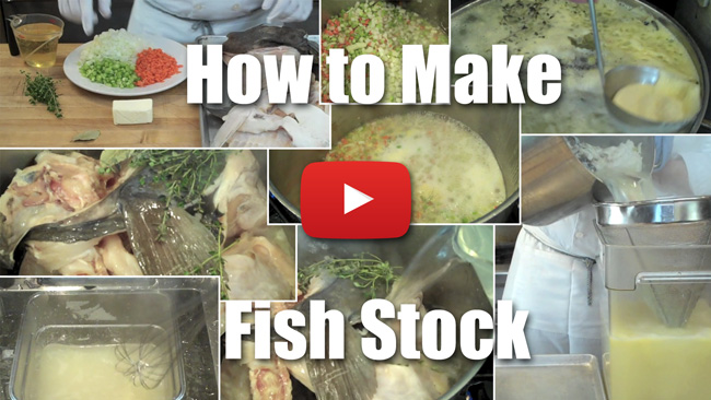 How to Make Fish Stock - Video