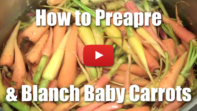 Blanch Root Vegetables - Video