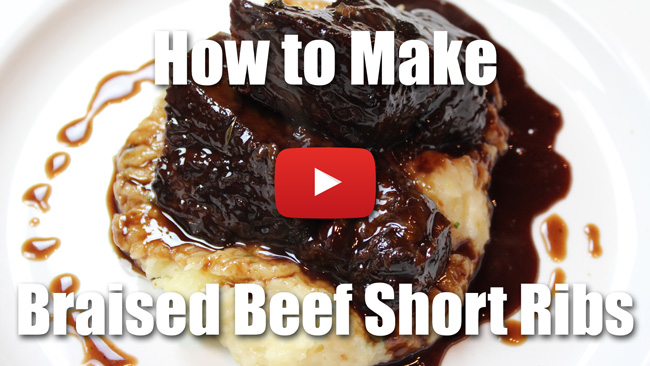 Braised Beef Short Ribs - Video Recipe