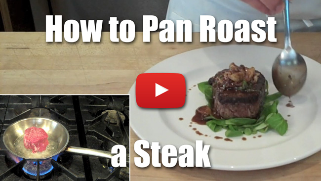 How to Pan Roast a Steak