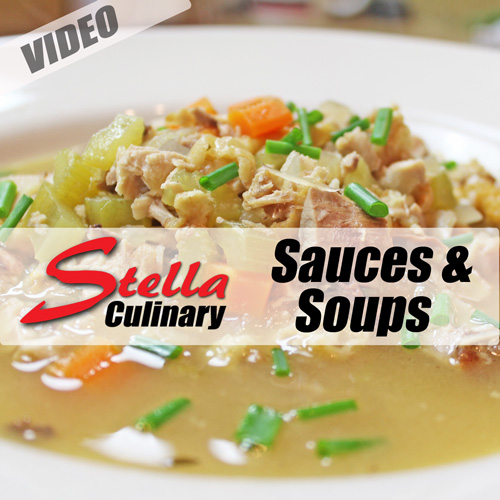 Sauces and Soups Video Index