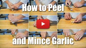 How to Peel and Mince Garlic Like a Professional Chef