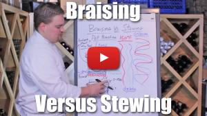 What's the Difference Between Braising and Stewing? Video Lecture