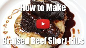 How to Braise Beef Short Ribs