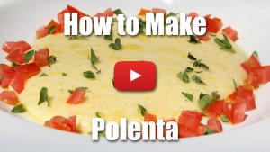How to Make Creamy Polenta - Video Technique
