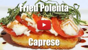 How to Make Fried Polenta Cakes - Video Technique