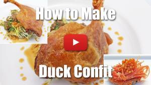 How to Make Duck Confit - Video Technique