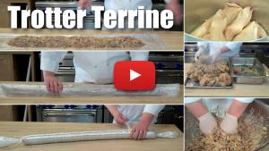 How to Make a Trotter Terrine Using Plastic Wrap - Part One