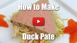 How to Make Duck Pate - Video Recipe