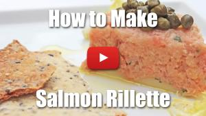 Salmon Rillette - Video Recipe