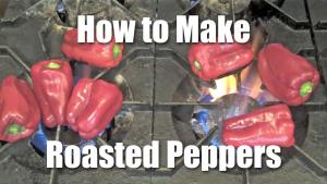 How to Roast and Peel Bell Peppers - Video