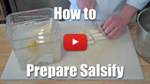 How to Prepare Salsify - VIdeo Technique