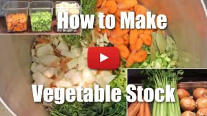 How to Make Vegetable Stock - Video
